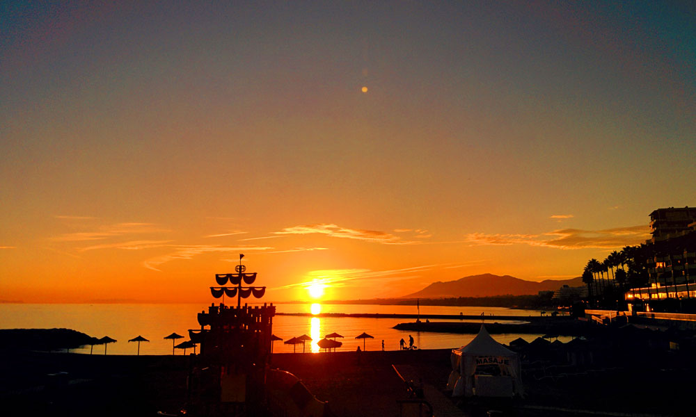 things to see and do in Marbella - Round off the afternoon watching a romantic sunset