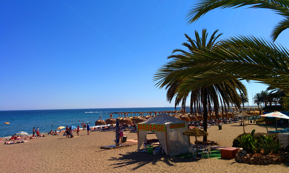 things to see and do in Marbella - Have a massage on the beach