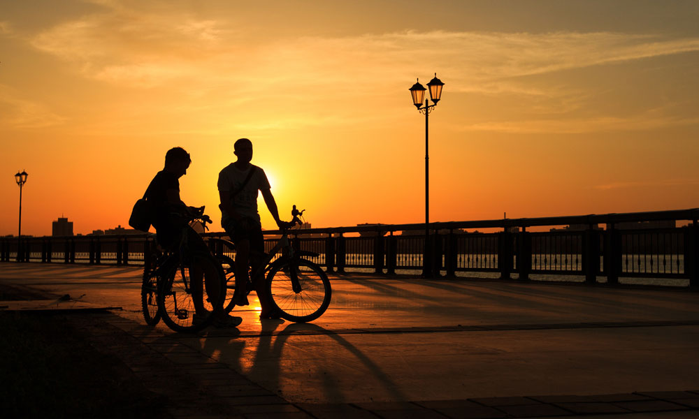Cycling routes in Marbella