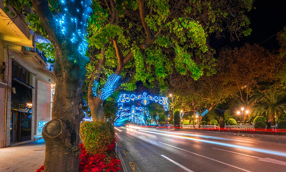 Christmas and New Year in Marbella - Christmas lights in Marbella