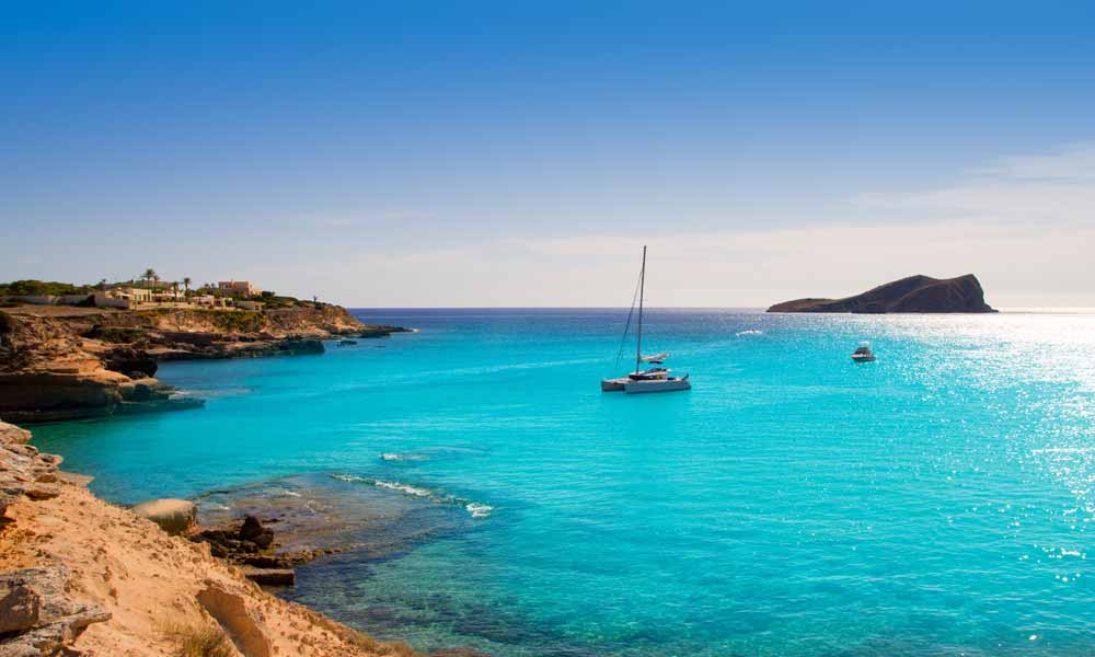 things to see and do in San Antonio, Ibiza - coves by boat